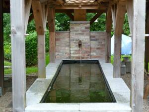 Der Brunnen vom Gestaltungsprofi.