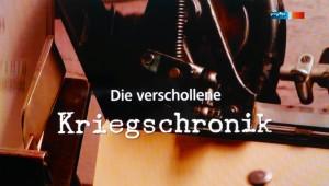 verschollene Kriegschronik - Filmgraphie Daniel Baumbach